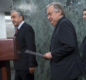 «Ναυάγησαν» οι συνομιλίες στη διάσκεψη για το Κυπριακό στο Κραν Μοντανά - Κυρίως Φωτογραφία - Gallery - Video