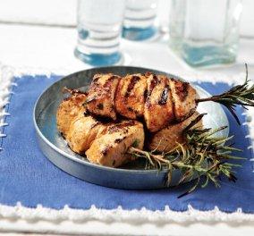Mε ελάχιστες θερμίδες: Μίνι σουβλάκι κοτόπουλο σε δροσερή καλοκαιρινή μαρινάδα από την Αργυρώ μας  - Κυρίως Φωτογραφία - Gallery - Video