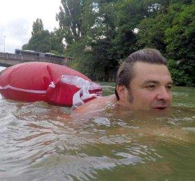 Απίστευτο: Κολυμπάει κάθε μέρα για να πάει στη δουλειά του στη Γερμανία (ΒΙΝΤΕΟ) - Κυρίως Φωτογραφία - Gallery - Video