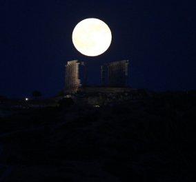 Το φεγγάρι του Ιουλίου μας χάρισε μια μαγική βραδιά-Δείτε εντυπωσιακές φωτογραφίες - Κυρίως Φωτογραφία - Gallery - Video