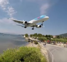 Απίστευτη προσγείωση αεροπλάνου στο αεροδρόμιο της Σκιάθου (ΒΙΝΤΕΟ) - Κυρίως Φωτογραφία - Gallery - Video