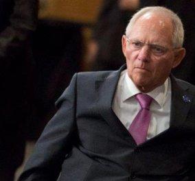 """Σόιμπλε: """"Δεν κόβω εγώ τις συντάξεις - Οι ελληνικές κυβερνήσεις υπεύθυνες για τις μειώσεις"""" - Κυρίως Φωτογραφία - Gallery - Video"""