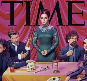 Game Of Thrones: Οι πρωταγωνιστές σε ψυχεδελική φωτογράφιση - Ένα εκθαμβωτικό εξώφυλλο στο ΤΙΜΕ (ΦΩΤΟ-ΒΙΝΤΕΟ) - Κυρίως Φωτογραφία - Gallery - Video