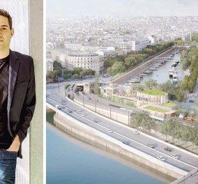 Made in Greece: η ανάπλαση στον Σηκουάνα με τον Έλληνα αρχιτέκτονα Ηλία Παπαγεωργίου στο τιμόνι - Κυρίως Φωτογραφία - Gallery - Video