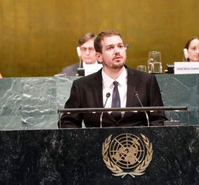 Made in Greece: Ενας Έλληνας πολύγλωσσος στον ΟΗΕ μέσω Πεκίνου - Κυρίως Φωτογραφία - Gallery - Video