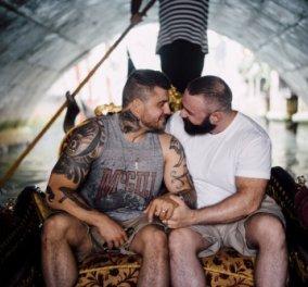 Αρραβώνας σε γόνδολα στη Βενετία: ο Body builder γονάτισε & έδωσε βέρα στον Ολυμπιονίκη της κατάδυσης – φωτό - Κυρίως Φωτογραφία - Gallery - Video