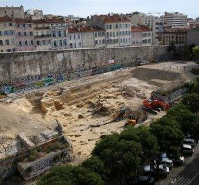 Μασσαλία: Αρχαίο ελληνικό λατομείο χαρακτηρίζεται ιστορικό μνημείο - Κυρίως Φωτογραφία - Gallery - Video