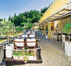 Toula's: στο ελληνικό εστιατόριο της Κέρκυρας με θέα το Ιόνιο έκανε αφιέρωμα η Daily Mail - Κυρίως Φωτογραφία - Gallery - Video