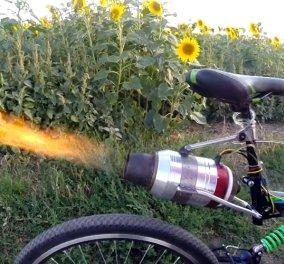 «Τουρμπάτο» ποδήλατο που πιάνει τα 72 χλμ./ ώρα (ΒΙΝΤΕΟ) - Κυρίως Φωτογραφία - Gallery - Video