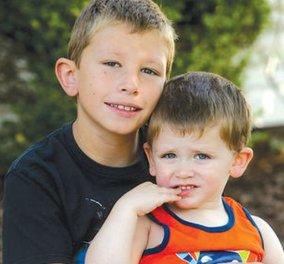 O ήρωας της ημέρας: έσωσε τον 2χρονο αδελφό του αγοράκι 10 ετών - αντέγραψε σκηνή με τον Ντουέιν Τζόνσον  - Κυρίως Φωτογραφία - Gallery - Video