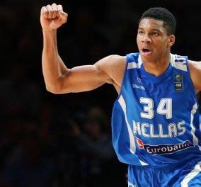 Ισχυρό σοκ για την εθνική ομάδα: Εκτός Ευρωμπάσκετ ο Γιάννης Αντετοκούνμπο! - Κυρίως Φωτογραφία - Gallery - Video