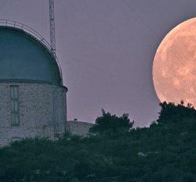 Good news: Ανοικτό το Εθνικό Αστεροσκοπείο Αθηνών για την Αυγουστιάτικη Πανσέληνο - Κυρίως Φωτογραφία - Gallery - Video