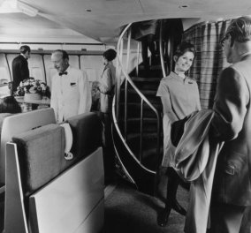 24 vintage εικόνες της κάποτε χλιδάτης British Airways με τα ασημένια μαχαιροπήρουνα & σήμερα 5£ ένα σάντουιτς - Κυρίως Φωτογραφία - Gallery - Video
