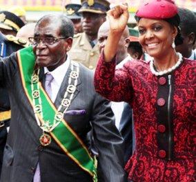 """Έσπασε στο ξύλο νεαρό μοντέλο η Πρώτη Κυρία της Ζιμπάμπουε: """"παρασύρεις τους γιους μου σε όργιο"""".... Φωτό - Κυρίως Φωτογραφία - Gallery - Video"""