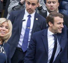 """Οι Γάλλοι αποφάσισαν: Η Μπριζίτ Μακρόν δεν θα πληρώνεται με ειδικό κονδύλι ούτε θα έχει επίσημα τον τίτλο """"Πρώτη Κυρία"""" - Κυρίως Φωτογραφία - Gallery - Video"""