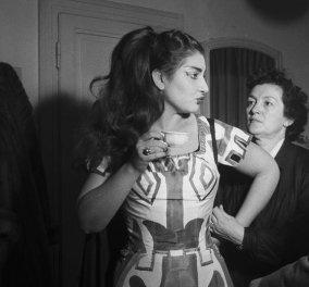 Vintage φωτογραφίες: 1961 η Μαρία Κάλλας στην ιστορική παράσταση της Μήδειας στην Επίδαυρο  - Κυρίως Φωτογραφία - Gallery - Video