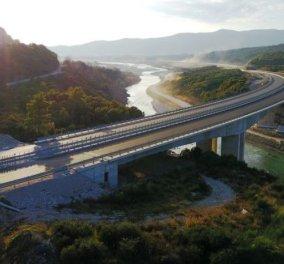 Good news: Αθήνα- Ιωάννινα σε 3,5 ώρες - Στην κυκλοφορία από την Πέμπτη το τελευταίο τμήμα της Ιονίας Οδού - Κυρίως Φωτογραφία - Gallery - Video