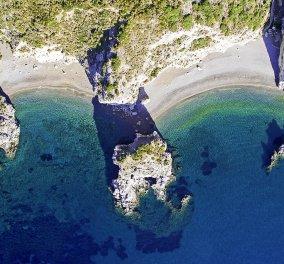 Ασύλληπτης ομορφιάς τα Κήθυρα με drone από ψηλά: λατρεύω αυτό το νησί με τις συγκλονιστικές παραλίες - Κυρίως Φωτογραφία - Gallery - Video