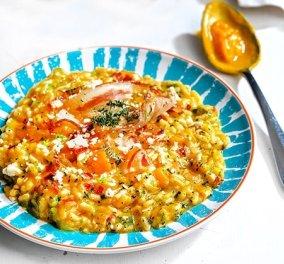 Καλοκαιρινό ριζότο με λαχανικά: μια θαυμάσια συνταγή της Αργυρώς για ένα γεύμα στην ... ώρα του - Κυρίως Φωτογραφία - Gallery - Video