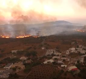 Κύθηρα: Πάνω από 15.000 στρέμματα στάχτη -  Συγκλονιστικές εικόνες καταστροφής καταγράφει βίντεο drone - Κυρίως Φωτογραφία - Gallery - Video