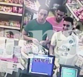 To βίντεο – φωτιά: Οι τζιχαντιστές της Βαρκελώνης την στιγμή που αγόραζαν... αναπτήρες σε ψιλικατζίδικο - Κυρίως Φωτογραφία - Gallery - Video