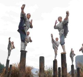 Βίντεο: δεν θα πιστέψετε τι κάνουν αυτοί οι νεαροί Σαολίν με τα στομάχια ή τους μύες τους ....!!! - Κυρίως Φωτογραφία - Gallery - Video