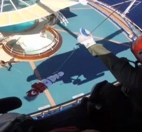 Εντυπωσιακό βίντεο του Πολεμικού Ναυτικού με στιγμιότυπα από επιχειρήσεις διάσωσης  - Κυρίως Φωτογραφία - Gallery - Video
