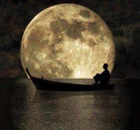2 σε 1 το βράδυ της Δευτέρας: Αυγουστιάτικη Πανσέληνος και μερική έκλειψη σελήνης  - Κυρίως Φωτογραφία - Gallery - Video