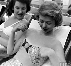 Vintage φανταστικές εικόνες με καλλονές του 1948 σε υπερπολυτελές ξενοδοχείο της Αμερικής - Κυρίως Φωτογραφία - Gallery - Video