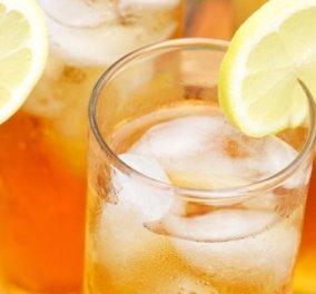 Καθόλου απλό! Η Ντίνα Νικολάου μας μυεί βήμα βήμα στο καλοκαιρινό ice tea - Κυρίως Φωτογραφία - Gallery - Video