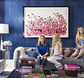 Το υπέροχο μωβ – ροζ διαμέρισμα διάσημης δερματολόγου του Μανχάταν – ροζ & μωβ πινελιές στο υπερμοντέρνο σπίτι - Κυρίως Φωτογραφία - Gallery - Video