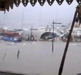 Βίντεο: ο κυκλώνας Ίρμα καταστρέφει τα πάντα στο πέρασμά του από την Καραϊβική – απειλεί Αντίλλες και Φλόριντα - Κυρίως Φωτογραφία - Gallery - Video