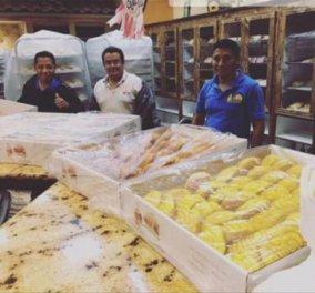 Τυφώνας Χάρβεϊ: εγκλωβίστηκαν στο φούρνο & έφτιαξαν εκατοντάδες φρατζόλες ψωμιού για τους πληγέντες - φωτό - βίντεο - Κυρίως Φωτογραφία - Gallery - Video