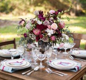 Παντρεύεστε φθινόπωρο; 20 εντυπωσιακές ανθοσυνθέσεις για να διακοσμήσετε τα τραπέζια του γάμου - Κυρίως Φωτογραφία - Gallery - Video