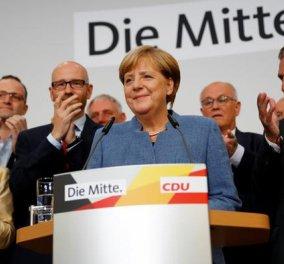 Γερμανικές εκλογές: Τέταρτη θητεία Μέρκελ, αλλά με μεγάλες απώλειες - Πανωλεθρία Σουλτς & εκτόξευση των εθνικιστών - Κυρίως Φωτογραφία - Gallery - Video