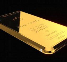 Ένα iPhone από... χρυσάφι θα κοστίζει 58.000 ευρώ!  - Κυρίως Φωτογραφία - Gallery - Video