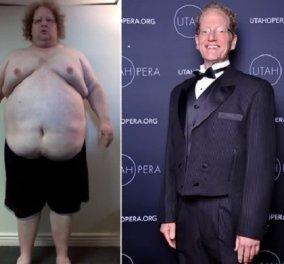 Αυτός ο άρρωστα παχύσαρκος άνδρας έβαλε τα δυνατά του & βγήκε νικητής: Να πως (ΒΙΝΤΕΟ) - Κυρίως Φωτογραφία - Gallery - Video
