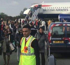 Έκτακτο: «Απειλή» σε αεροσκάφος της British Airways - Αναγκαστική προσγείωση στο Παρίσι - Κυρίως Φωτογραφία - Gallery - Video