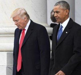 Nτοκουμέντο: Η επιστολή που έγραψε ο Ομπάμα στον Τραμπ, λίγο πριν αποχωρήσει από τον Λευκό Οίκο - Κυρίως Φωτογραφία - Gallery - Video