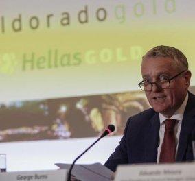 Πρόεδρος ElDorado Gold : «Δεν έχουμε την υποστήριξη της κυβέρνησης ΣΥΡΙΖΑ-ΑΝΕΛ» - Τι απαντά η κυβέρνηση - Κυρίως Φωτογραφία - Gallery - Video