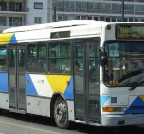Στάση εργασίας σήμερα στα λεωφορεία - Κυρίως Φωτογραφία - Gallery - Video