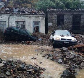 Σαμοθράκη - Συγκλονιστικά βίντεο από τις βιβλικές καταστροφές - σε κατάσταση έκτακτης ανάγκης - Κυρίως Φωτογραφία - Gallery - Video