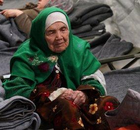 Η πιο δραματική ιστορία πρόσφυγα: Αφγανή 105 ετών παθαίνει εγκεφαλικό μένει τυφλή όταν μαθαίνει ότι απέρριψαν αίτηση της  - Κυρίως Φωτογραφία - Gallery - Video