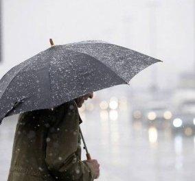 Καιρός: η θερμοκρασία πέφτει κι άλλο – καταιγίδες και άνεμοι - Κυρίως Φωτογραφία - Gallery - Video