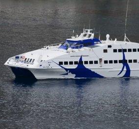 Σίφνος: Πρόσκρουση του «Sea jet 2» στο λιμάνι - Τραυματίστηκαν δυο επιβάτες - Κυρίως Φωτογραφία - Gallery - Video