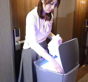Βίντεο: δείτε το ρομπότ που κάνει άψογο room service σε ξενοδοχείο του Τόκυο - Κυρίως Φωτογραφία - Gallery - Video