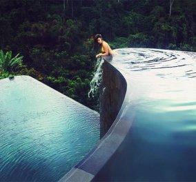 Βίντεο - φωτό: οι πιο εντυπωσιακές πισίνες που έχετε δει με θέα αχανείς ορυζώνες στο Μπαλί - Κυρίως Φωτογραφία - Gallery - Video