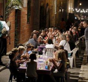 Good news: Κάθε Σεπτέμβρη οι κάτοικοι μιας ολόκληρης πόλης 8.000 κατοίκων τρώνε μαζί & διασκεδάζουν (ΦΩΤΟ-ΒΙΝΤΕΟ) - Κυρίως Φωτογραφία - Gallery - Video