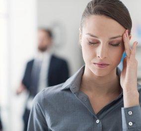 5 τρόποι για να σταματήσει χωρίς φάρμακα τον πονοκέφαλο - Κυρίως Φωτογραφία - Gallery - Video