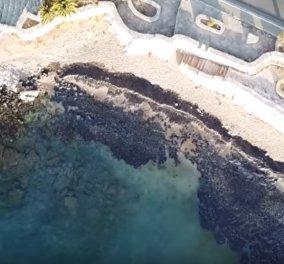 Απίστευτο βίντεο: Drone καταγράφει την περιβαλλοντική ρύπανση στη Σαλαμίνα (ΒΙΝΤΕΟ) - Κυρίως Φωτογραφία - Gallery - Video